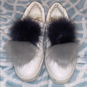Sam Edelman Pom Pom sneakers never been worn